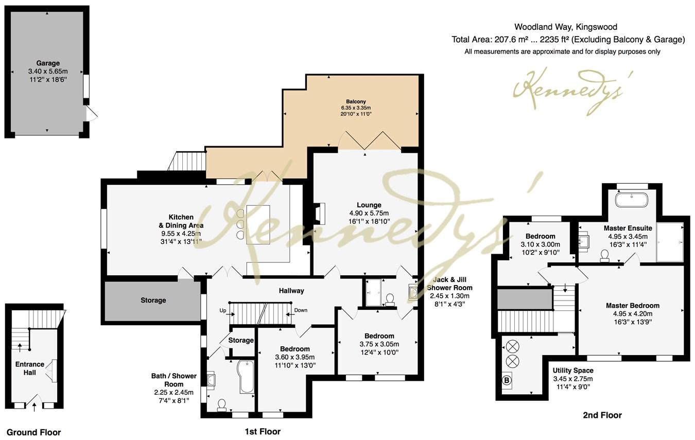 4 Bedroom Maisonette For Sale In Kingswood