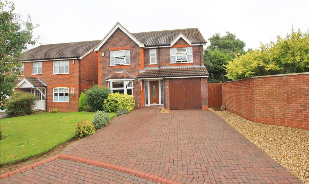 4 Bedrooms Detached House for sale in STROYKINS CLOSE, GRIMSBY