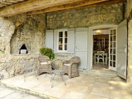 Chateauneuf de Grasse, Cote d'Azur, France